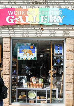 Working Artists Gallery & Stained Glass Supplies